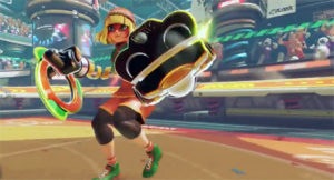 arms female fighter