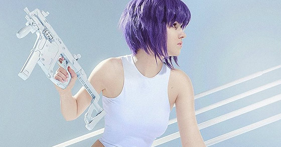 shirogane just released her sexy and epic cosplay of motoko kusanagi from ghost in the shell